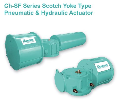 Scotch & Yoke Pneumatic Actuators